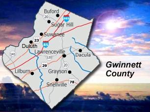 gwinnet county map